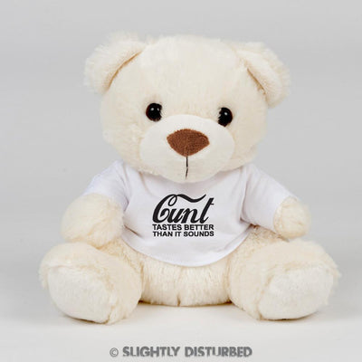 Cunt - Tastes Better than it Sounds Swear Bear - Slightly Disturbed