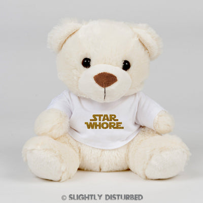 Star Whore Swear Bear - Rude Bears - Slightly Disturbed