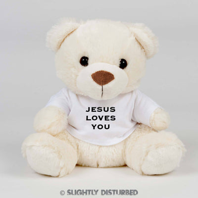 Jesus Loves You...Dick Swear Bear - Rude Bears - Slightly Disturbed
