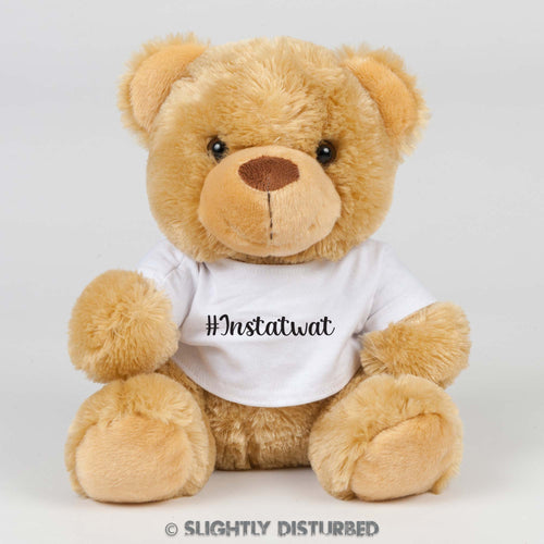 Instatwat Swear Bear - Brown/Black - Rude Bears - Slightly Disturbed