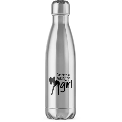 I've Been A Naughty Girl Water Bottle - Novelty Gifts - Slightly Disturbed