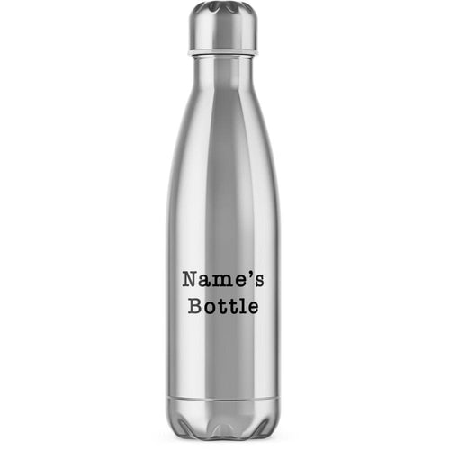 Personalised Water Bottle - Novelty Water Bottles - Slightly Disturbed