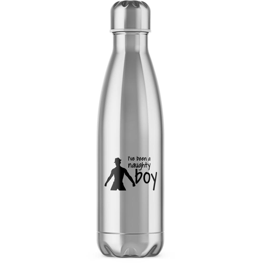 I've Been A Naughty Boy Water Bottle - Novelty Gifts - Slightly Disturbed