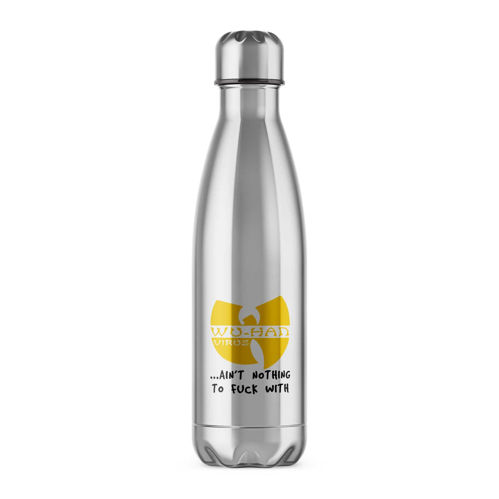 Wu-Han Virus Water Bottle - Offensive Water Bottles - Slightly Disturbed