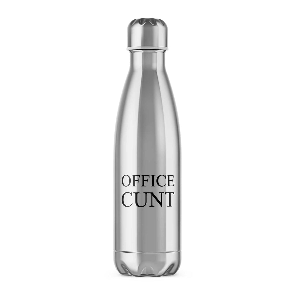 Office Cunt Water Bottle - Rude Water Bottle - Slightly Disturbed
