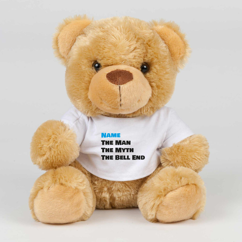 Personalised The Man The Myth - Rude Swear Bear - Slightly Disturbed - Image 1 of 2