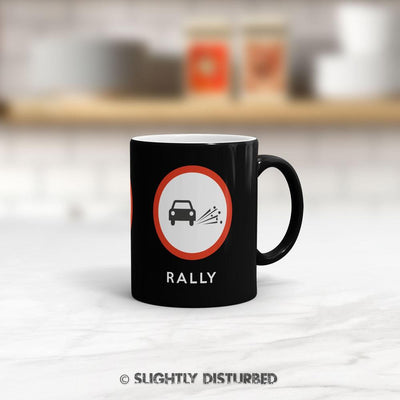 Drag, Drift, Rally Mug - Novelty Mugs - Slightly Disturbed