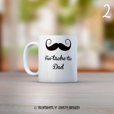 Personalised Moustache Mug
