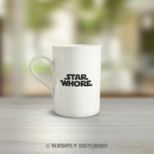 Load image into Gallery viewer, Star Whore Mug - Rude Mugs - Slightly Disturbed