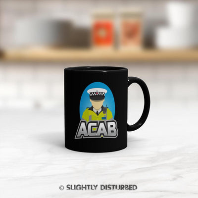 ACAB Traffic Cop Mug - Rude Mugs - Slightly Disturbed