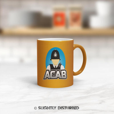 ACAB Mug - Rude Mugs - Slightly Disturbed