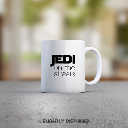 Jedi On The Streets Sith In The Sheets Mug - Star Wars Mug - Slightly Disturbed