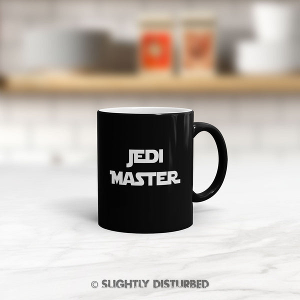 Jedi Master Satin Mug - Star Wars Mugs - Slightly Disturbed