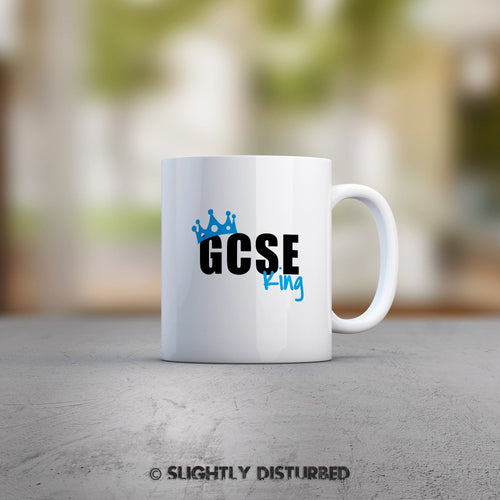 GCSE King or Queen Mug - Slightly Disturbed