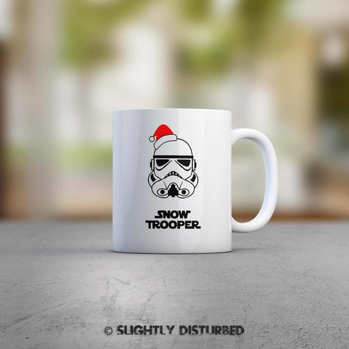 Snowtrooper Mug - Star Wars Mugs - Slightly Disturbed