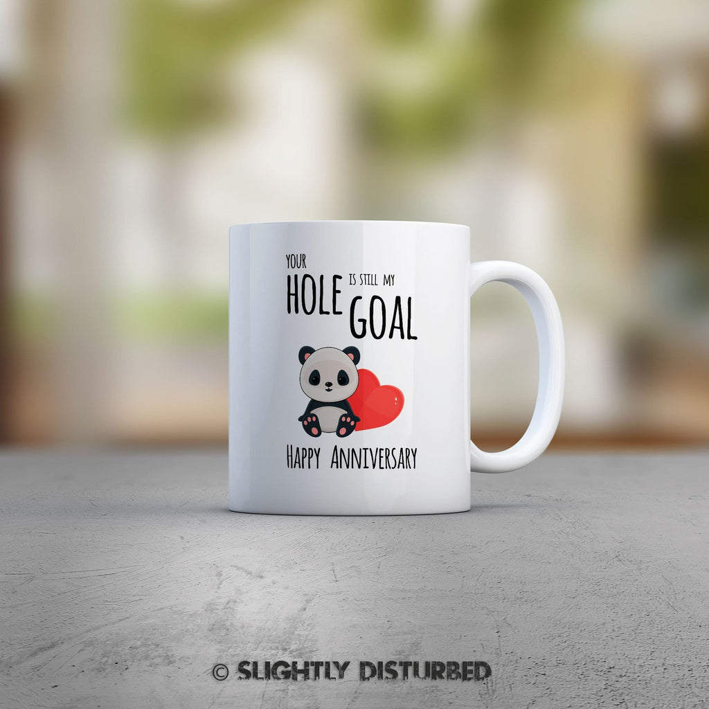 Your Hole Is Still My Goal Mug - Rude Mugs - Slightly Disturbed