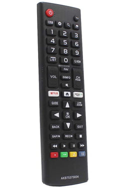 LG 75UJ657AUB Remote Control Replacement
