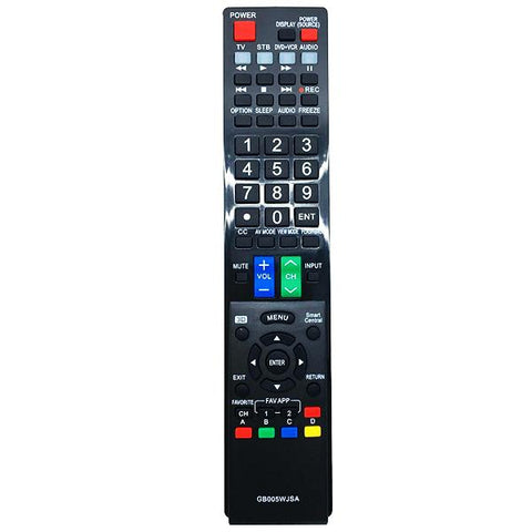 Sharp GB005WJSA Remote Control Replacement