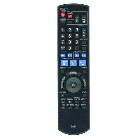 Panasonic DMREZ485V Remote Control Replacement
