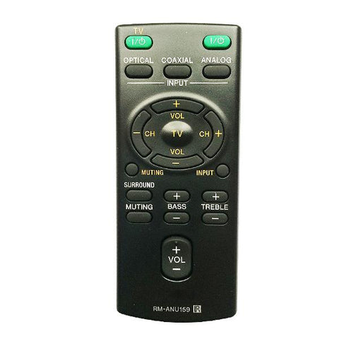 Sony RMANU159 Remote Control Replacement