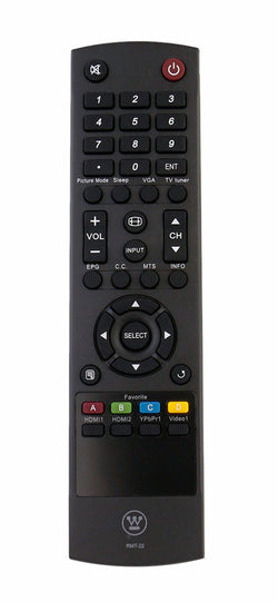 Westinghouse UW46T7HW Remote Control Replacement