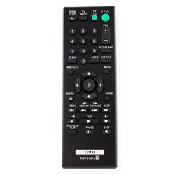 Sony RMTD197A Remote Control Replacement