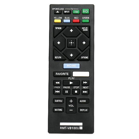 Sony BDP-BX350 Remote Control Replacement