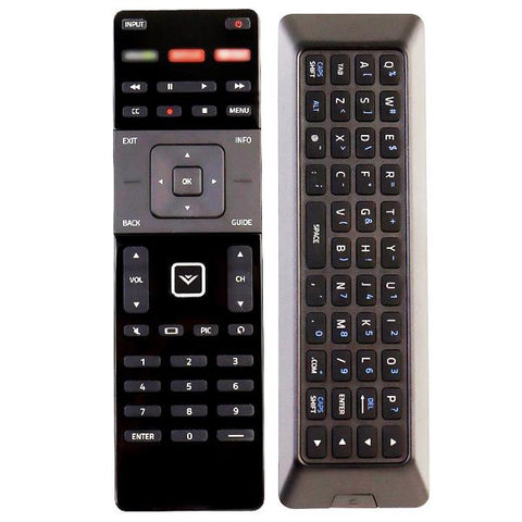 Vizio D24-173D1 Qwerty Dual Side Remote Control Replacement