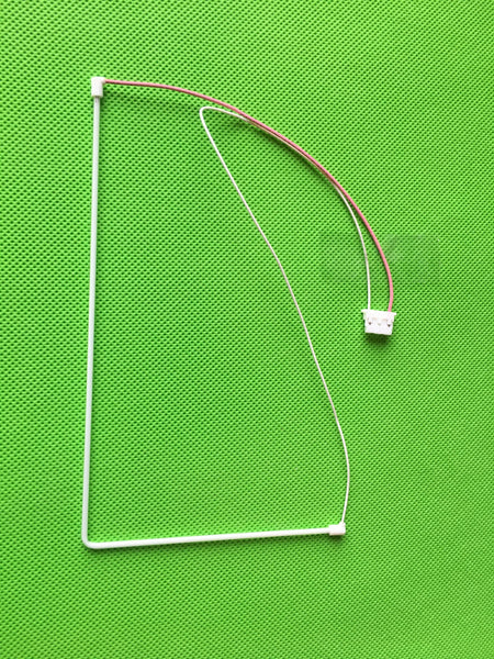 "PACIFIC ILLUMINATION #9780 - ""L"" shape Cold Cathode Lamp ( CCFL) assembly for Konami 7"" inch bonus screen LCD"