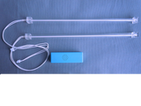 #2150 -12 volt dual cold cathode lamp inverter & two 12 inch cold cathode lamps in acrylic tubes
