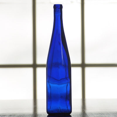 750 ml Cobalt Blue Stretch Hock, case of 12