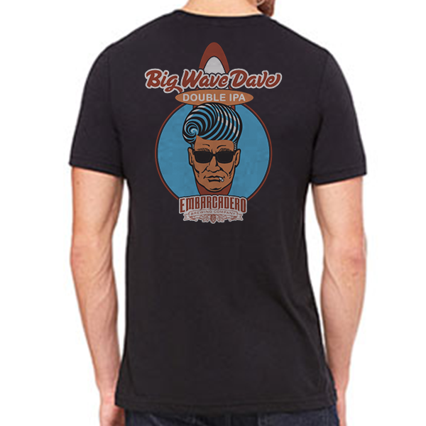 Big Wave Dave Double IPA BLK Shirt