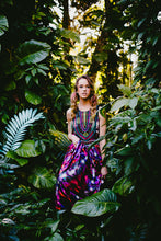 The Fifth Dimension of Love silk maxi dress