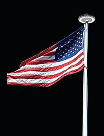 Flagpole Lighting Options Lighting Guide Amp How To Outdoor Solar Store