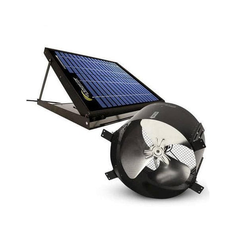 20 Watt Solar Gable Fan