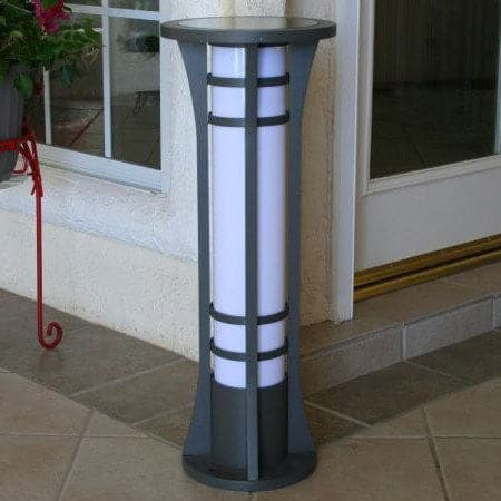 Column Solar Bollard Light Outdoor Solar Store