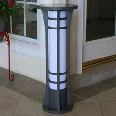 Column Solar Bollard Light