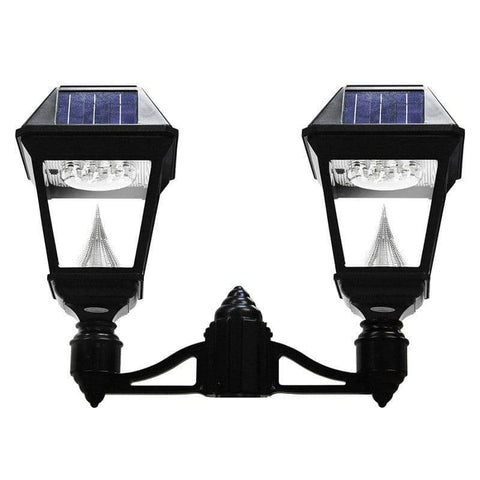 Solar lamp post lights solar powered light posts outdoor solar store solar imperial ii double pole mount aloadofball Image collections