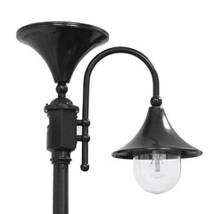 Black Everest Solar Lamp Post