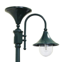 Green Everest Solar Lamp Post