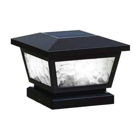 Fairmont Solar Cap Light - Black