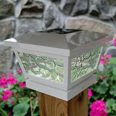 Fairmont Solar Cap Light - White