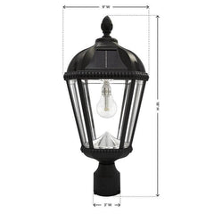 Royal Solar Lamp Pole Mount