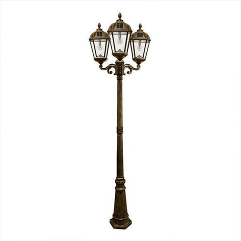 Royal Solar Lamp Post - Triple
