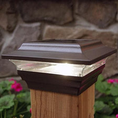 Imperial Solar Cap Light - Bronze