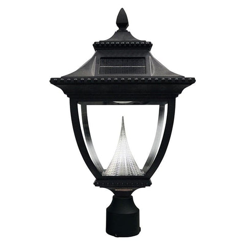 Solar lamp post lights solar powered light posts outdoor solar store pagoda solar lamp pole mount aloadofball Image collections