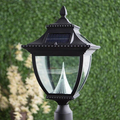 Pagoda Solar Lamp - Pole Mount