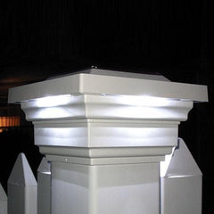 Regal Solar Cap Light - White