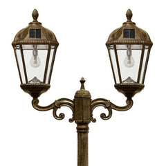 Royal Solar Lamp Post - Double