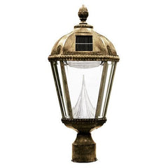 Royal Solar Lamp - Weathered Bronze